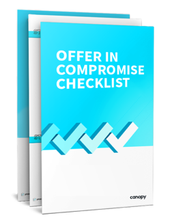 Offer in Compromise Checklist, OIC Flowchart