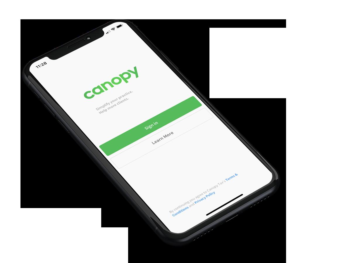 Canopy Mobile App Solo