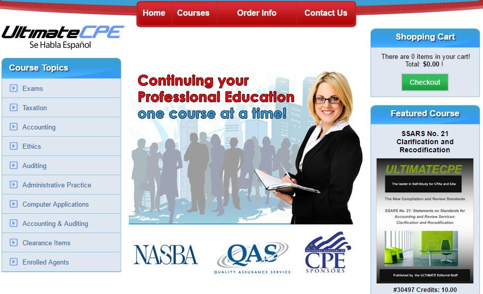 Online self study cpe credit